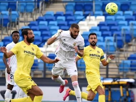Real Madrid defiende su invicto frente al Villarreal