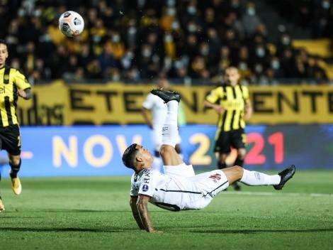 Ex Wanderers anota golazo de chilena en Copa Sudamericana
