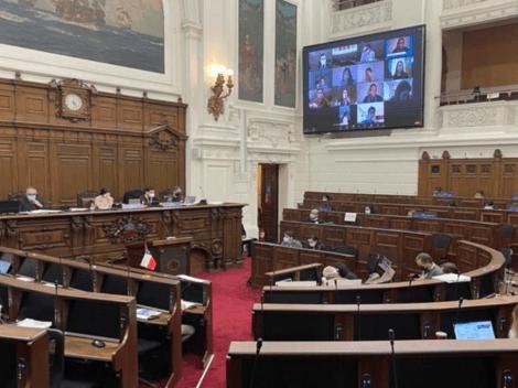 Convención registra caso de covid en medio de votación del reglamento
