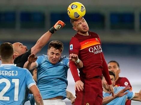 Horario: Roma busca meterse en la cima del Calcio ante Lazio