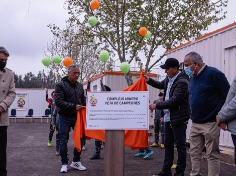 Cobresal inaugura su nuevo complejo en Puente Alto