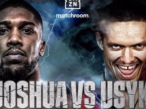 ¿Dónde ver Anthony Joshua defender el título Peso Pesado ante Oleksandr Usyk?