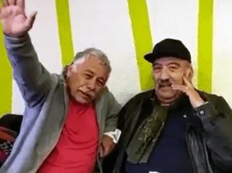 Histórico encuentro entre Carlos Caszely y el Negro Ahumada