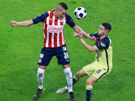 América y Chivas empatan a cero en el clásico mexicano
