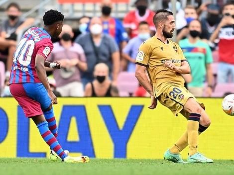 Barcelona recupera la alegría en el regreso de Ansu Fati