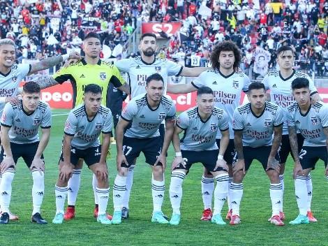 Formación: Colo Colo al Superclásico con equipo de experiencia