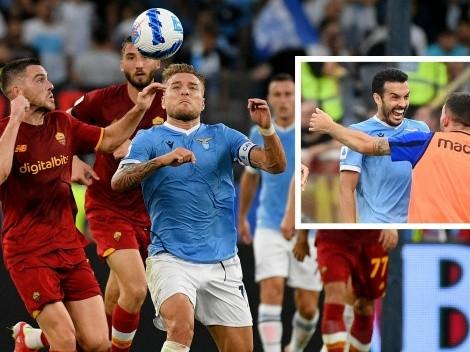 Lazio vence a la Roma y Pedro grita gol a su ex equipo