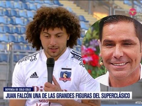 En TNT Sports confunden a Maxi con el actor Juan Falcón