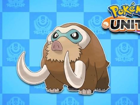 Mamoswine ya tiene fecha de estreno en Pokémon UNITE