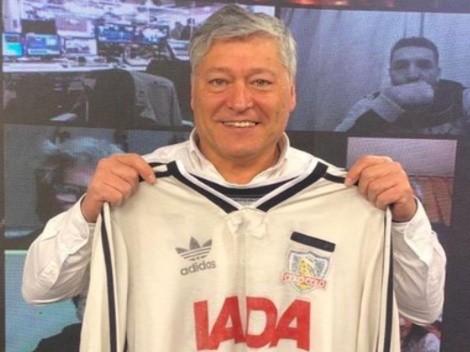 "Pato Yáñez: ""La U vio la camiseta de Colo Colo y se cagaron enteros"""