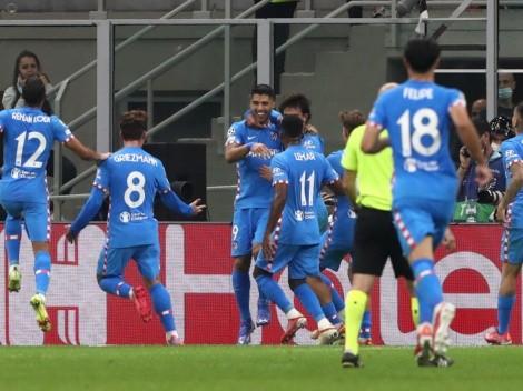 ¡En los descuentos! Suárez da vuelta el partido frente al AC Milan