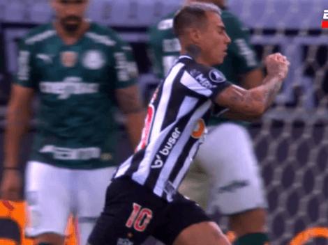 Golazo de Vargas para el Mineiro en la semifinal de Copa Libertadores