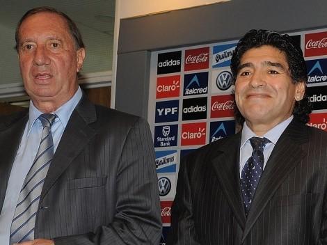 Bilardo: Familia decide contarle de la muerte de Maradona