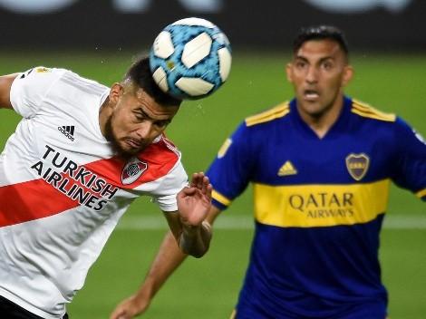 Díaz es uno de los titulares definidos de River contra Boca