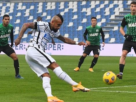 ¿Juega Vidal? Inter visita al Sassuolo en el Calcio
