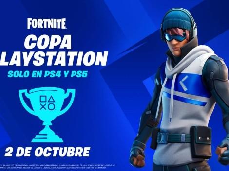 Fortnite tendrá copa exclusiva para PlayStation: fecha y premios