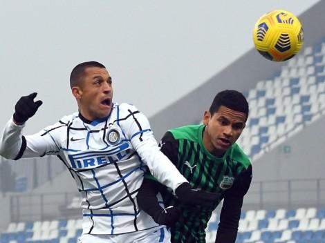 Horario: Inter visita a Sassuolo buscando volver al triunfo en la Serie A