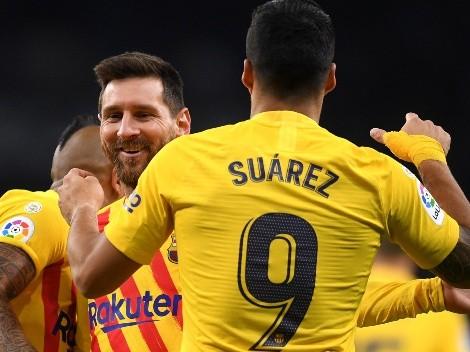 Suárez desclasifica el día de la salida de Messi de Barcelona