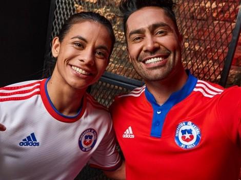 ¡Así es la nueva camiseta de Chile!