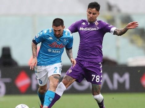 ¿Cuándo y a qué hora juega la Fiorentina de Pulgar vs Napoli?