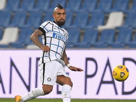 Prensa italiana le teje un chaleco a Vidal tras victoria del Inter