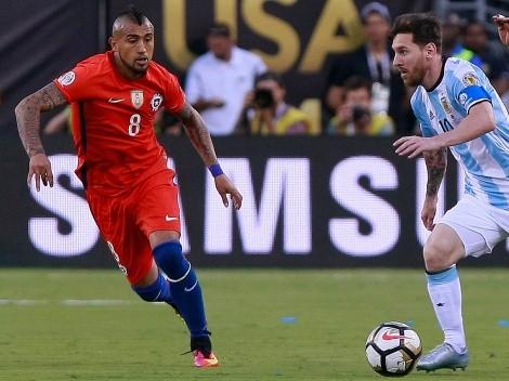 "Vidal: ""A Messi faltaba ganar algo con Argentina para ser feliz"""