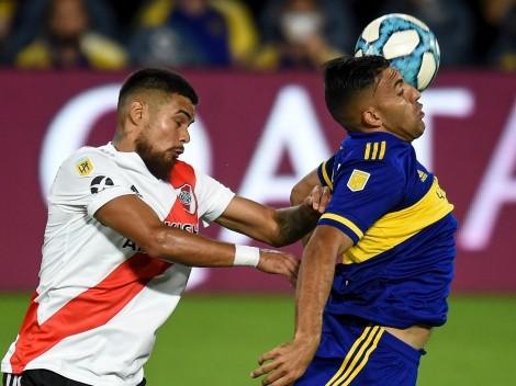 Superclásico argentino: Díaz jugó 9 veces ante Boca y nunca ganó