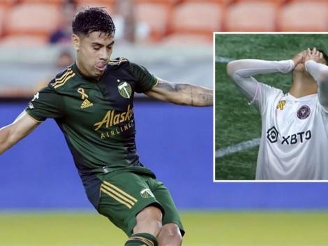 Felipe Mora le gana el duelo de delanteros a Robinson en la MLS