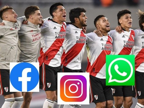 River se burla de Boca con la caída de FB, IG y Whatsapp