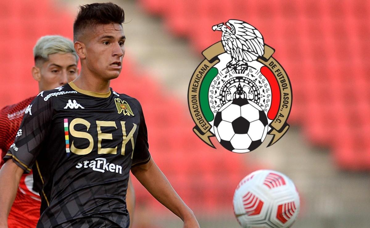 Benjamín Galdames se afirma en México y es nominado a una gira por España de la Sub 21