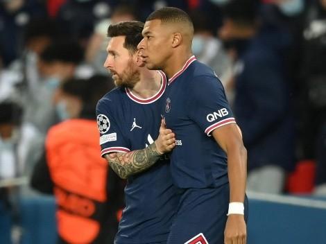 """Mbappé: """"Estoy de acuerdo con correr cuando Messi camina"""""""