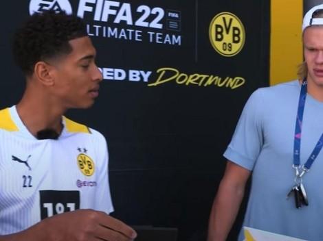"""Haaland se mosquea por su valoración en FIFA 22: """"Sin comentarios"""""""