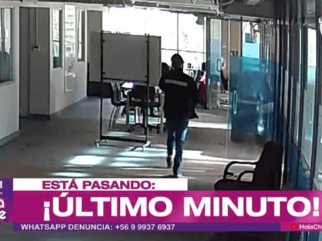 Roban computadores con reportaje de Alejandra Matus desde La Red