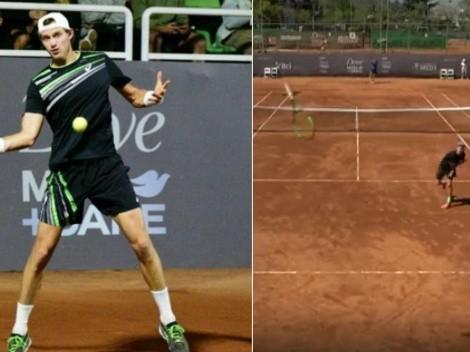 Challenger Santiago: Jarry triunfa y francés lanza raqueta a la cámara