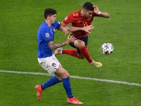 España da el golpe ante Italia en la Nations League