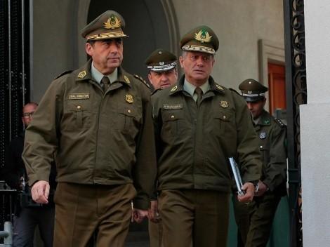 Fiscalía pide prisión preventiva para dos exdirecrtores generales de Carabineros