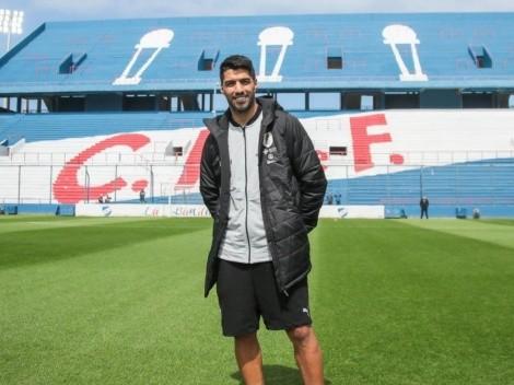 Luis Suárez vuelve al estadio de Nacional tras 15 años