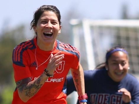 Carla Guerrero regresa a los entrenamientos de la U