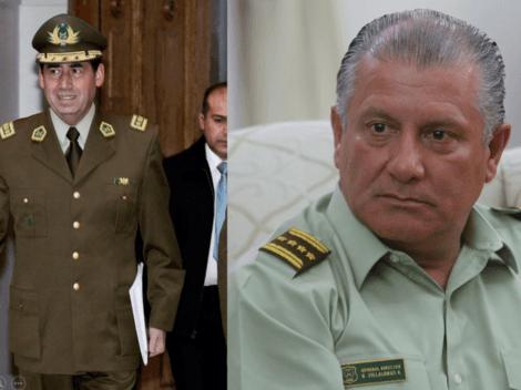 Dos exgenerales de Carabineros quedan en prisión preventiva
