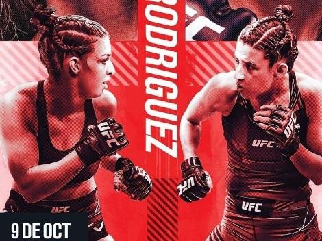Las brasileñas Dern y Rodríguez animan el evento central UFC Vegas 39