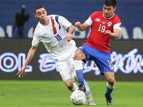 Formación: Paraguay sale con equipo ofensivo ante Chile