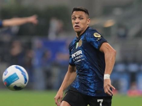"""Inter: """"Seguiremos con Alexis hasta que él piense lo contrario"""""""