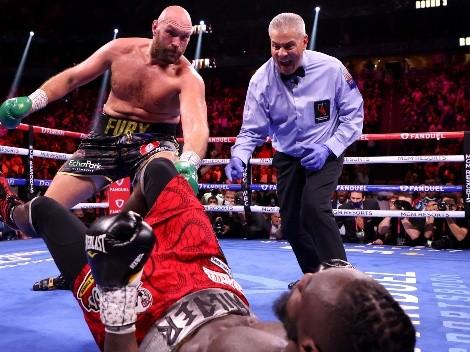 ¡Brutal combate! Fury noquea a Wilder en una auténtica guerra