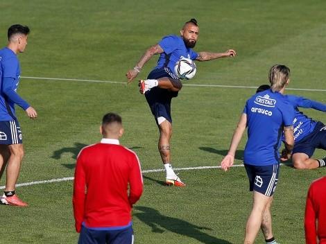 Otra cosa es con Vidal: los once titulares de la Roja