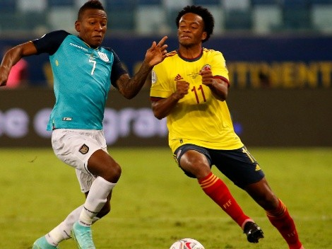 ¿Cuándo juega Colombia contra Ecuador?