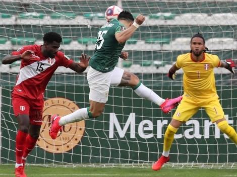 Bolivia derrota a Perú con uno menos y deja a Chile penúltimo