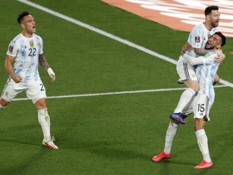 Con gol de Messi, Argentina derrota a Uruguay y se acerca a Brasil