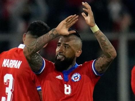 """Vidal a la prensa: """"Son mufa, sigan diciendo que quedaremos fuera"""""""