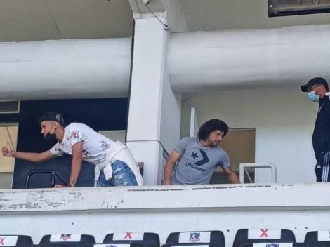 Maxi Falcón y Pablo Solari apoyan en el Superclásico femenino