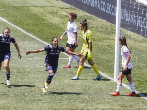 La U femenina le gana a Colo Colo en el Monumental